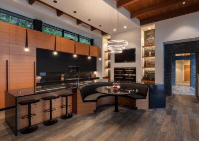 Luxury home builder - custom kitchen